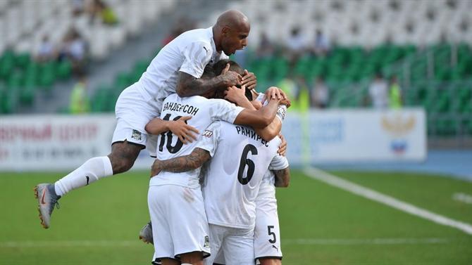 Krasnodar disputa acesso à Champions League