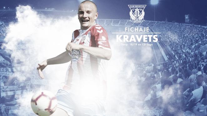 Vasyl Kravets aterriza en Leganés