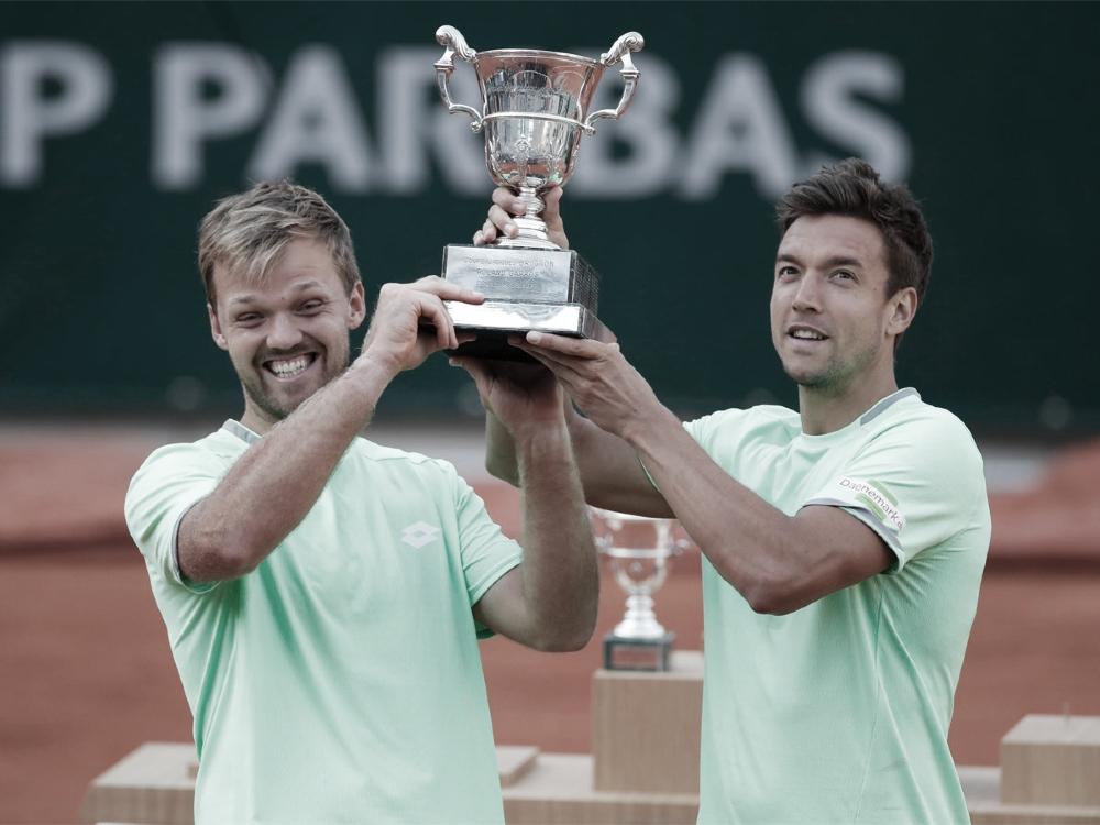 Krawietz/Mies batem Chardy/Martin e conquistam título de duplas em Roland Garros