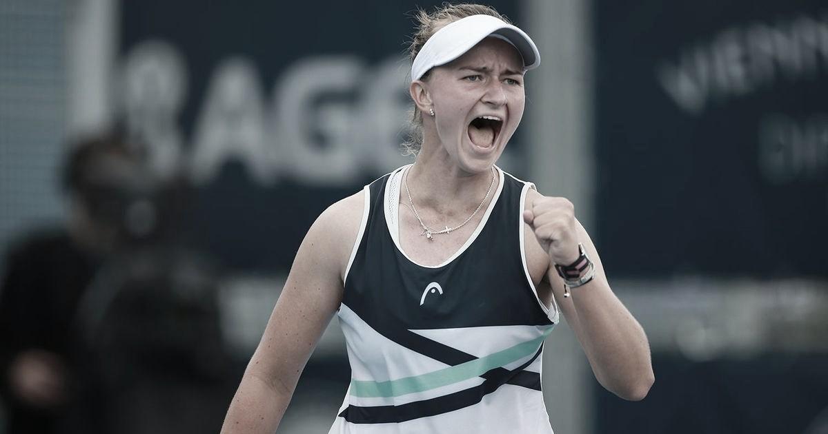 Krejcikova atropela Xinyu Wang e vai à final em Praga sem perder sets