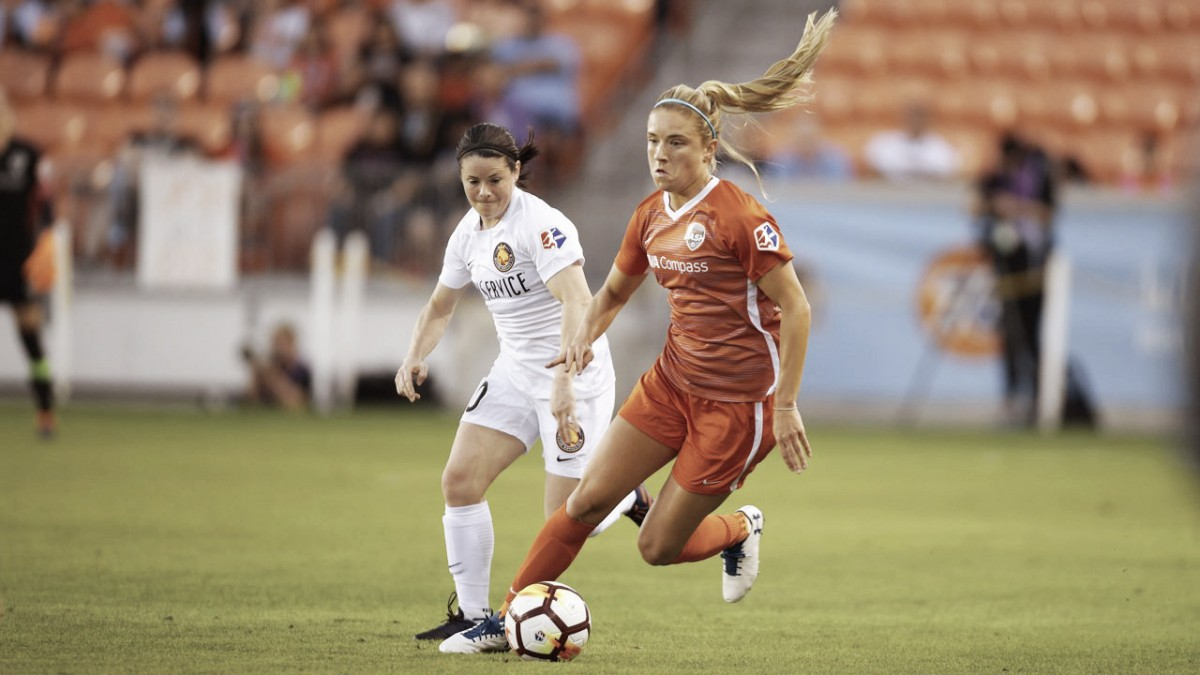 Houston Dash split points with Utah Royals FC in scoreless draw