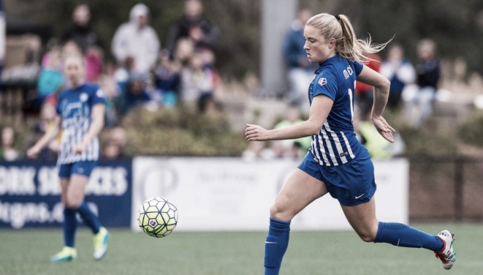 Kristie Mewis and Kassey Kallman to the Washington Spirit, Megan Oyster to the Boston Breakers