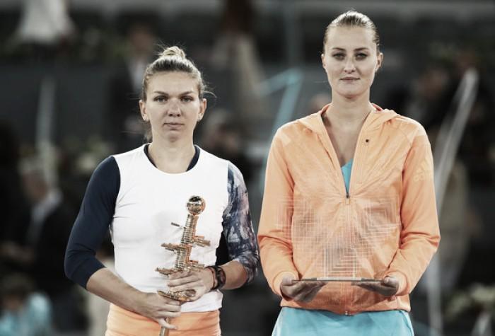 Top 10 WTA Matches of 2017: #8 - Simona Halep edges past dark horse Kristina Mladenovic in thrilling Madrid final