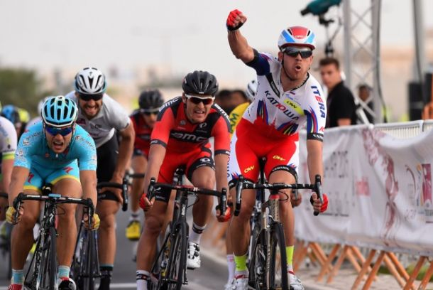 Qatar Tour, 2° tappa: Kristoff nel vento