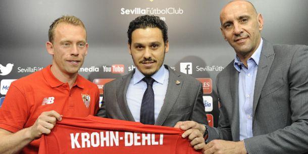 """Krohn-Dehli: """"Cuando Monchi me planteó la opción, no lo dudé"""""""