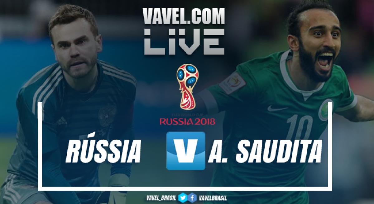 Rússia vence a Arábia Saudita pela Copa do Mundo 2018 (5-0)