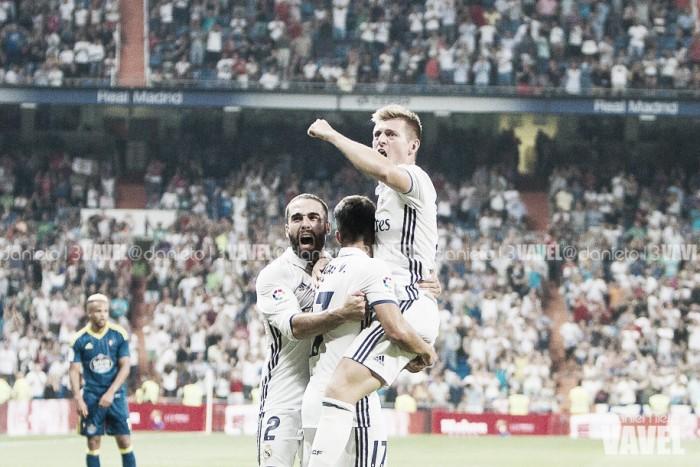 El Celta trae recuerdos felices al Real Madrid