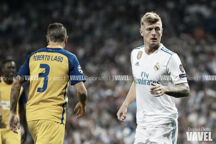 """Toni Kroos: """"Pitar a un jugador nunca ayuda"""""""