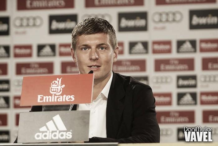"""Kroos se declara ao Real Madrid após renovação: """"Quero encerrar minha carreira aqui"""""""