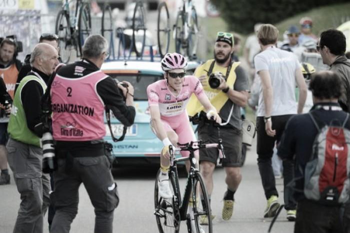 Giro d'Italia, la maglia rosa da un olandese a un altro