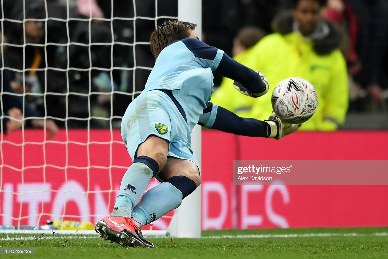 The mind games of Tim Krul