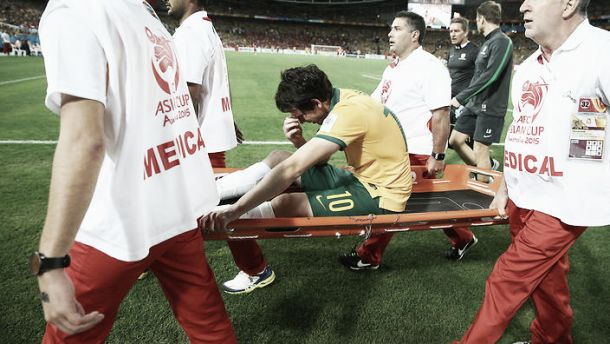 Robbie Kruse to miss the rest of the season