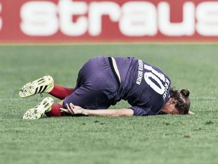 Werder Bremen rocked by Max Kruse injury
