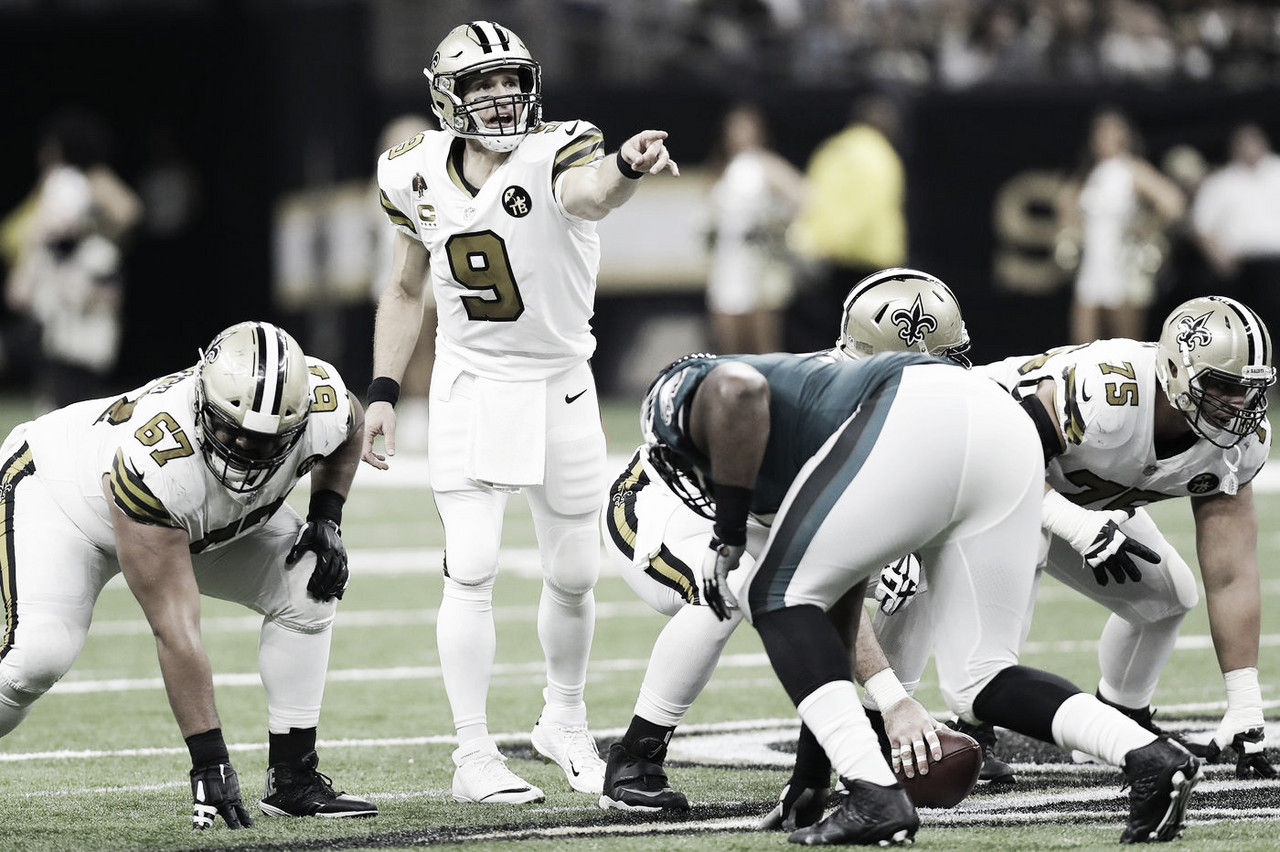 Claves para la victoria del duelo Eagles vs Saints