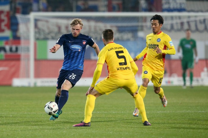 1. FC Heidenheim 2-1 Karlsruher SC: Schnatterer stars as hosts rise to second
