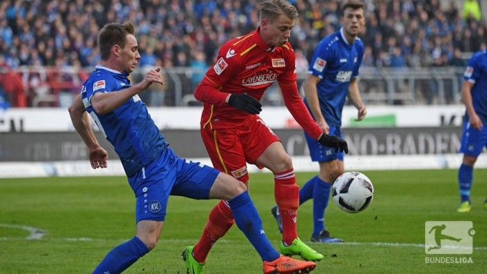 Karlsruher SC 1-2 1. FC Union Berlin: Efficient visitors beat hard-working KSC