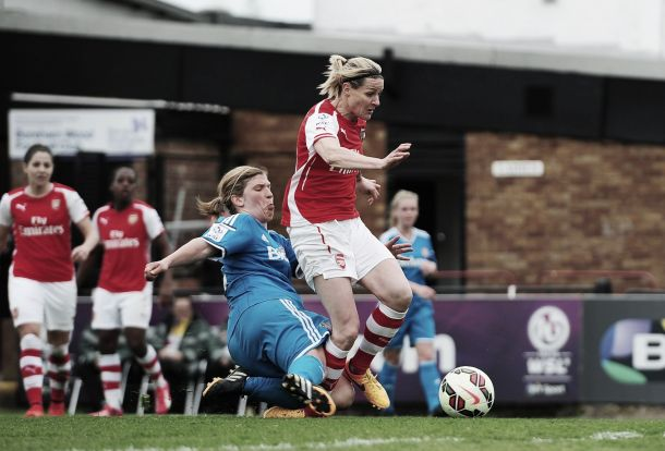 Arsenal Ladies' Kelly Smith in hot water after controversial injury comments