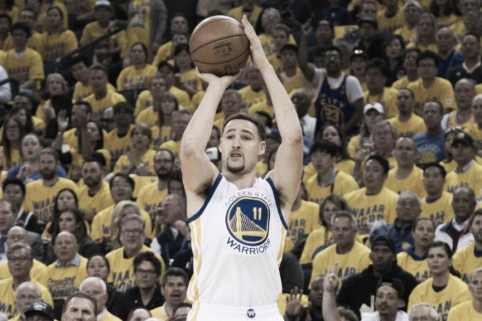 Basket, NBA Finals: Golden State, buona la prima. Cavs battuti 113-91