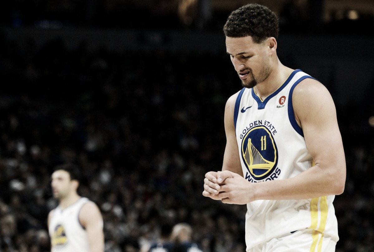 NBA, nei Warriors si ferma anche Klay Thompson