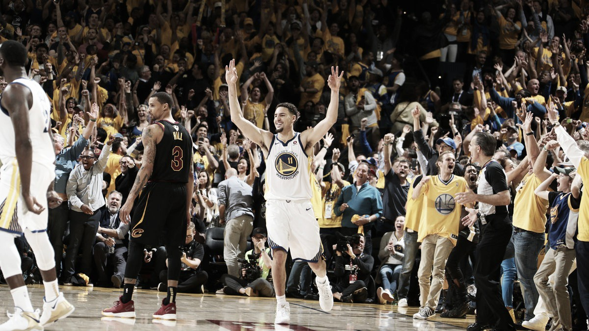 NBA Finals, Klay Thompson in dubbio per gara-2