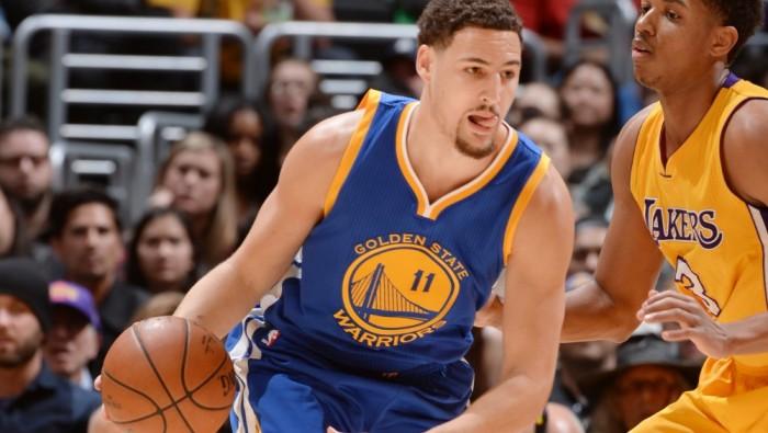 NBA - Klay Thompson abbatte i Lakers  tutto facile per Golden State ... 6199a9633f4