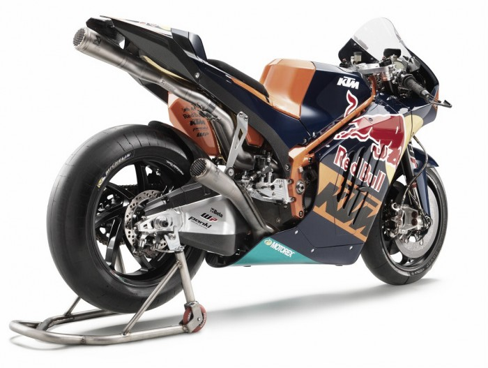 KTM launch the RC16 livery at the Red Bull Ring in Austria