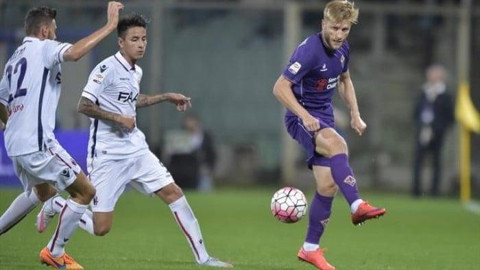 Bologna Vs Fiorentina in Serie A 2015/16 (1-1)