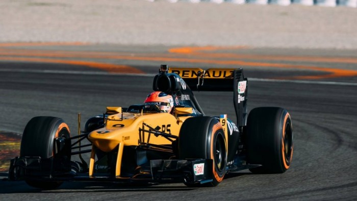 Robert Kubica partakes in private Formula 1 test with Renault