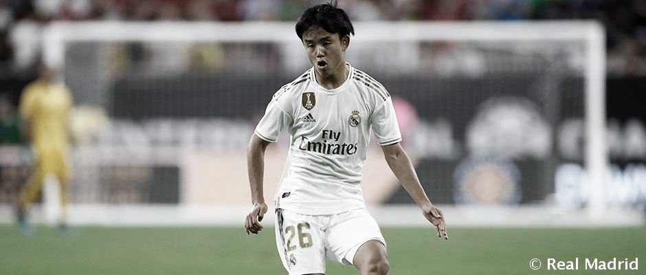 Takefusa Kubo jugando en el Real Madrid | FUENTE: Real Madrid