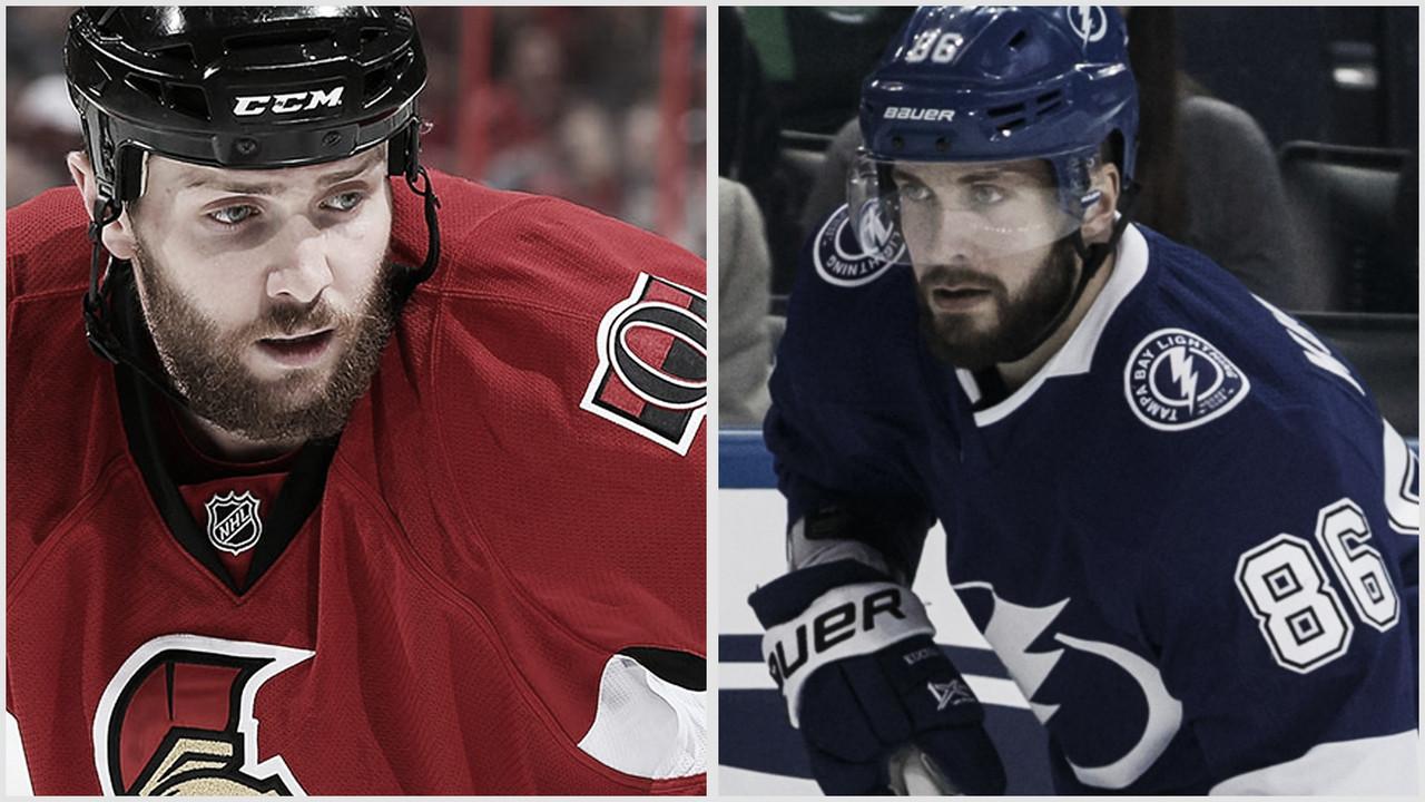 Zack Smith y Nikita Kucherov multados por la NHL