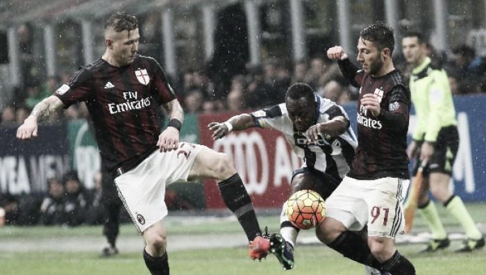 Kucka-Bertolacci e l'inversione dei ruoli nel Milan di Mihajlovic