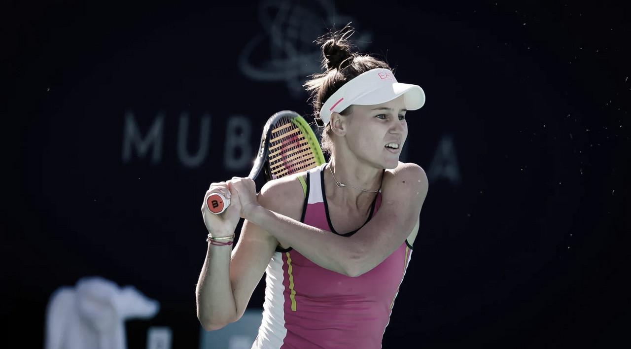 Kudermetova supera jogaço contra Svitolina e vai às semis em Abu Dhabi