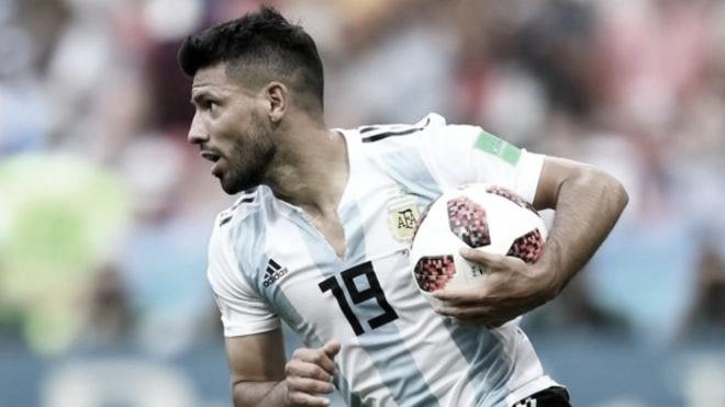 """Kun Agüero: """"Tengo más ganas de salir campeón por Messi que por mi"""""""