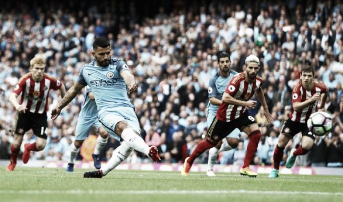 City toma susto, mas bate Sunderland e estreia com vitória na Premier League