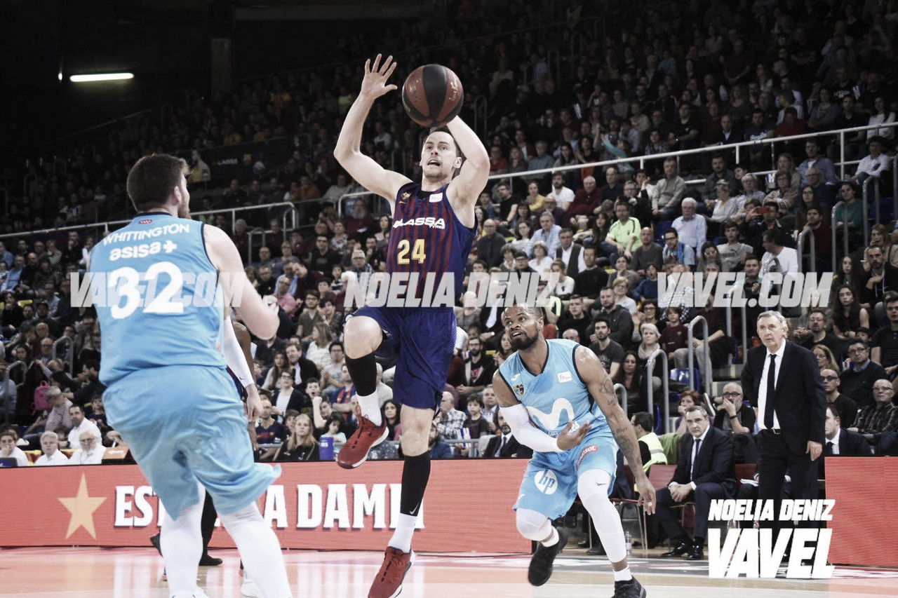 Resumen FC Barcelona Lassa vs Movistar Estudiantes en la Liga Endesa 2019 (90-76)
