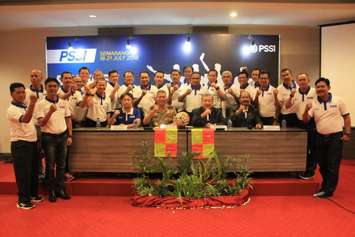 PSSI Gelar Kursus Instruktur Wasit di Semarang