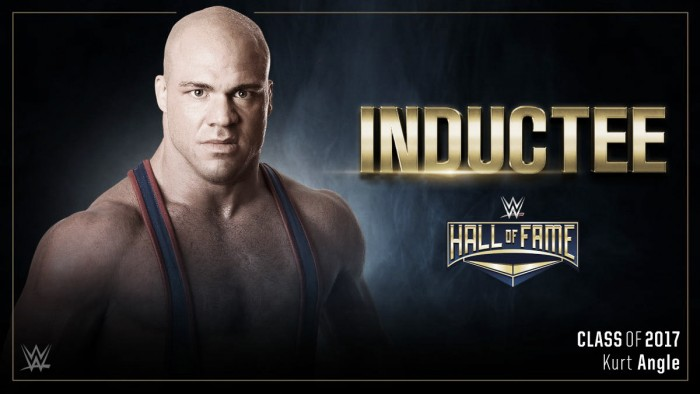 Kurt Angle to be inducted into the 2017 WWE Hall of Fame