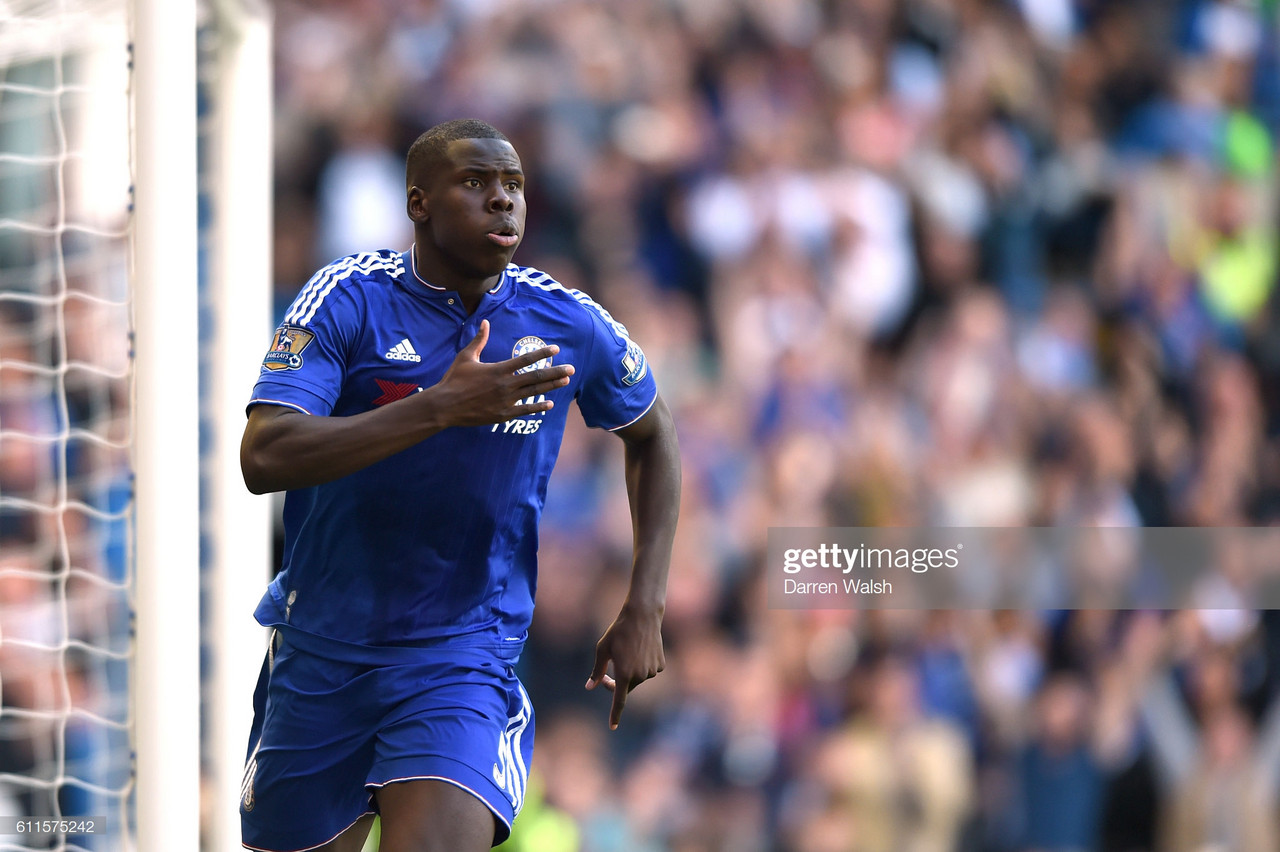 Kurt Zouma hints at Chelsea stay