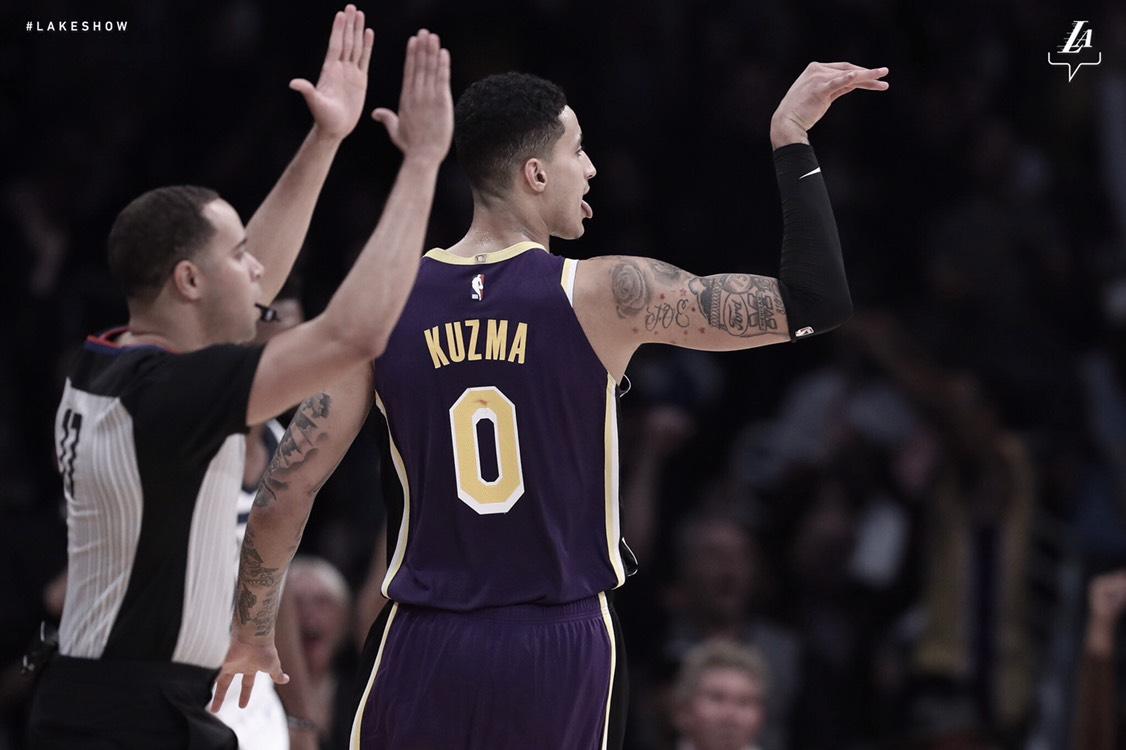Lakers se imponen en casa a Timberwolves