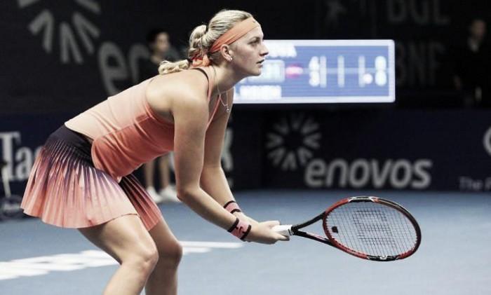 Kvitova bate Larsson e avança no WTA de Luxemburgo
