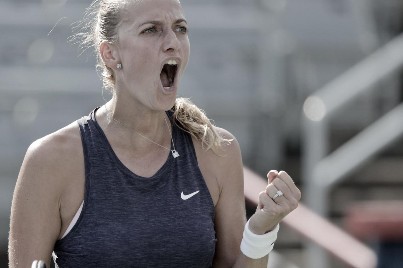 Petra Kvitova supera Fiona Ferro e está nas oitavas do WTA 1000 de Montreal