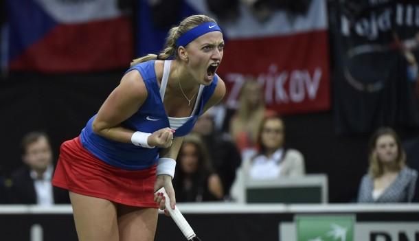Fed Cup Final: Petra Kvitova Gives Czech Republic 1-0 Lead