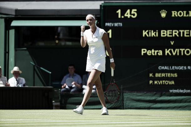 Wimbledon 2015: salutano Bouchard e Halep, volano Kvitova e Radwanska