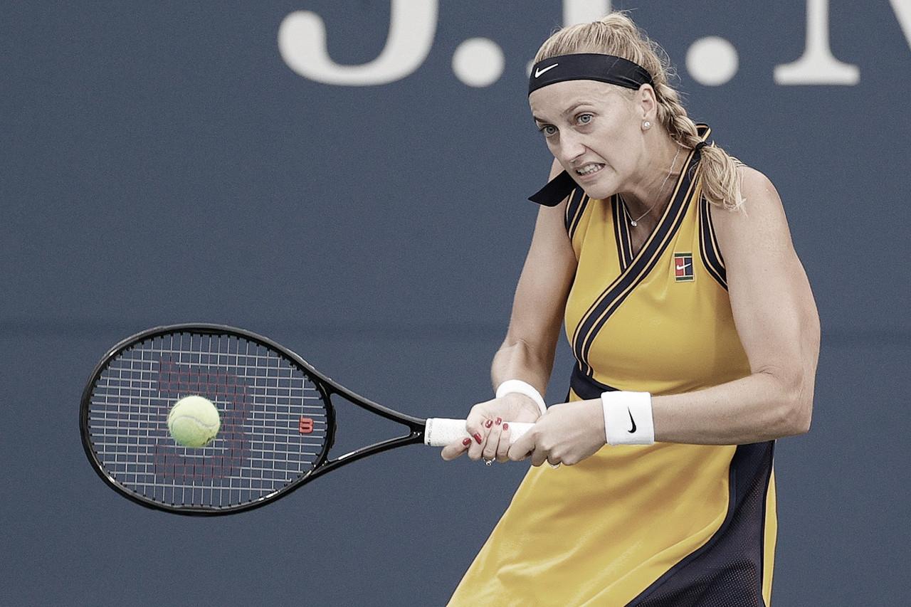 Kvitova e Swiatek estreiam com vitórias confortáveis no US Open 2021