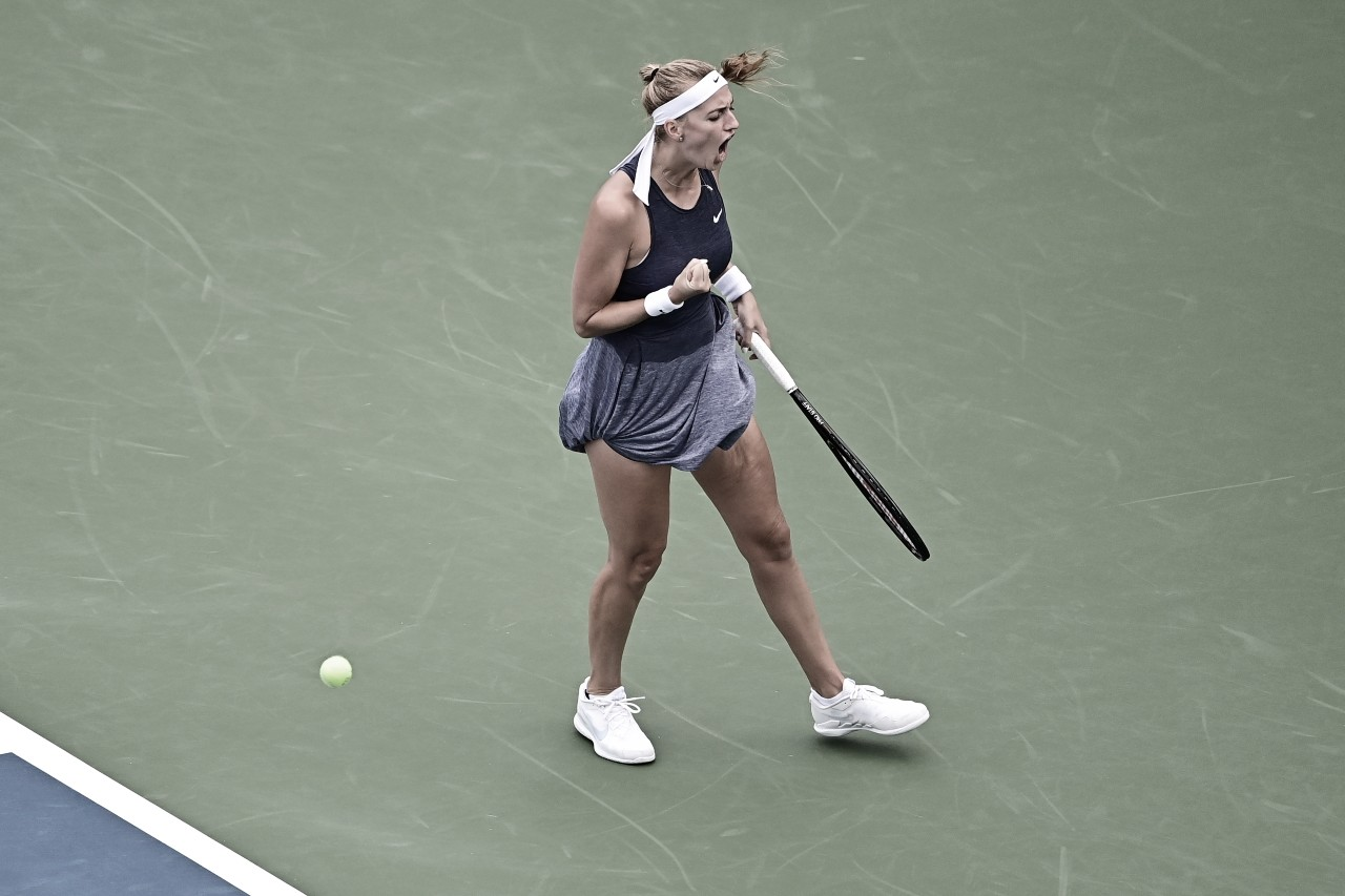 Kvitova supera Keys na estreia do WTA 1000 de Cincinnati; Krejcikova avança