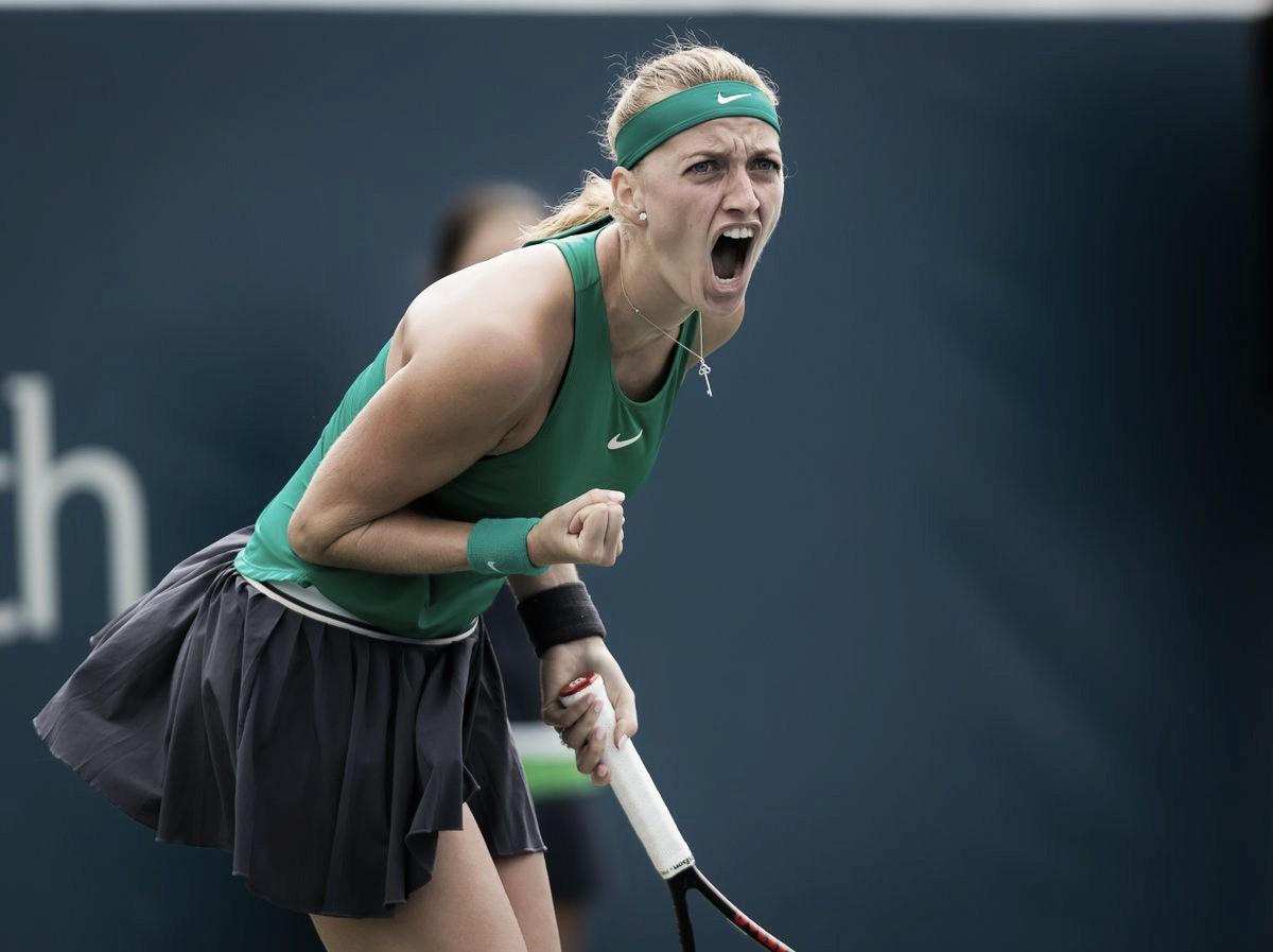 Kvitova vence jogo duro contra Mertens e segue às semis em Cincinnati