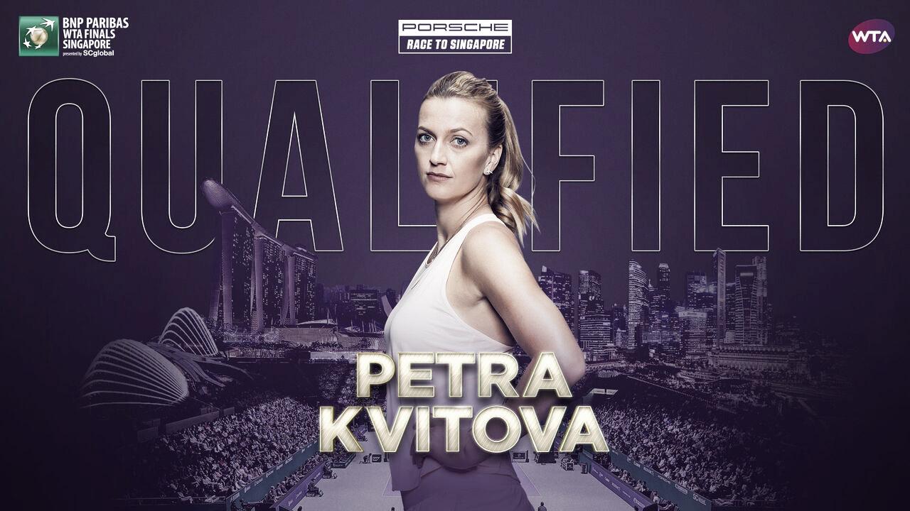 Petra Kvitova qualifies for WTA Finals