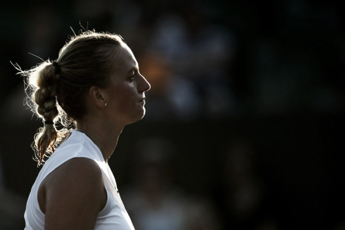 Petra Kvitova grateful she made it to Wimbledon as Czech checks out
