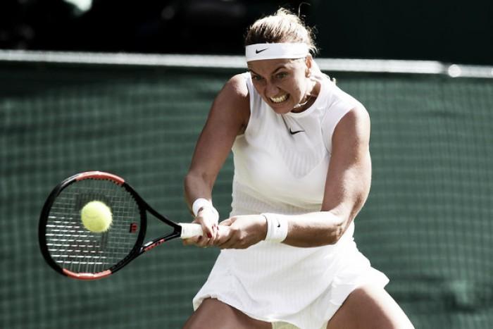 Kvitova arrasa en su debut en Stanford