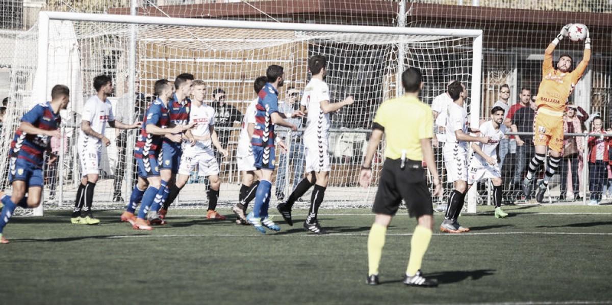 Peña Deportiva y Llagostera se complican la vida con un empate